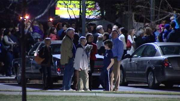 Walnut Hills High School was briefly evacuated Wednesday evening.