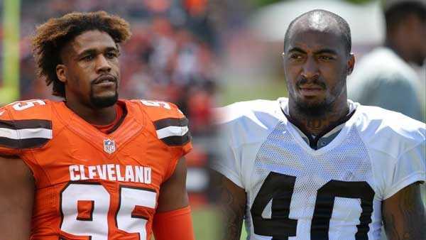 AP photos: Armonty Bryant (L) and De'Ante Saunders (R)