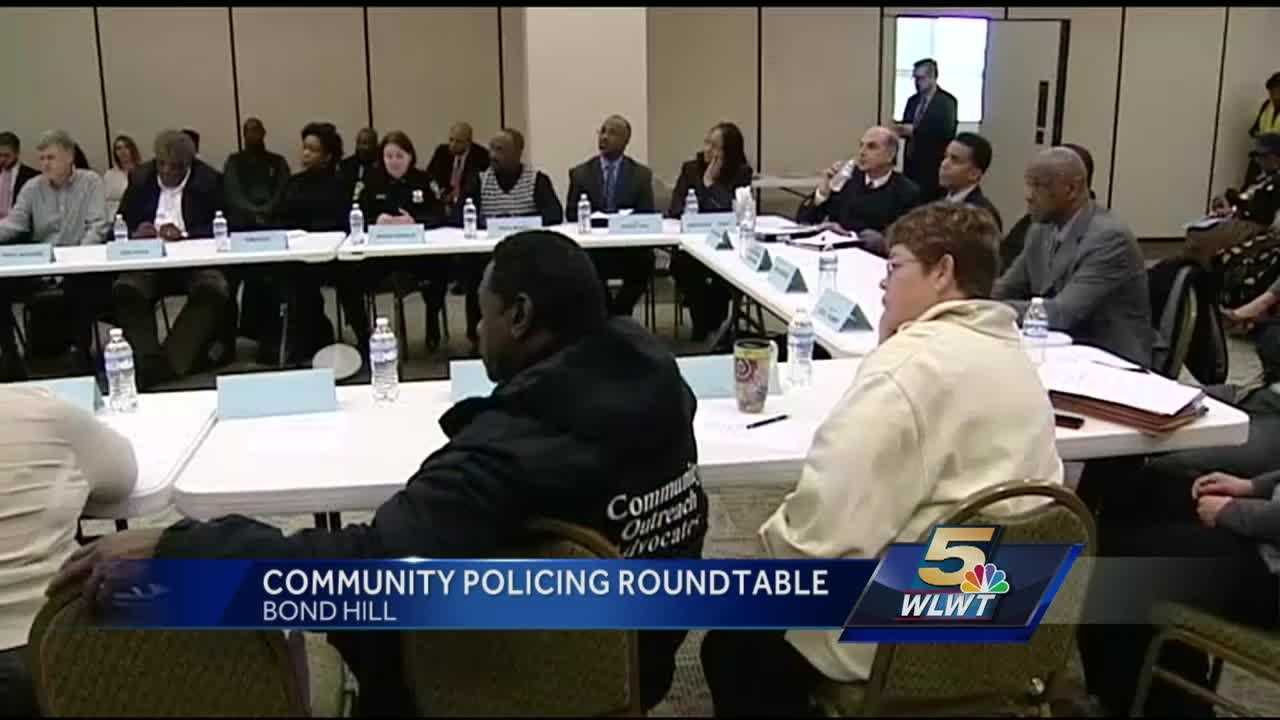 Cincinnati holds community policing roundtable event