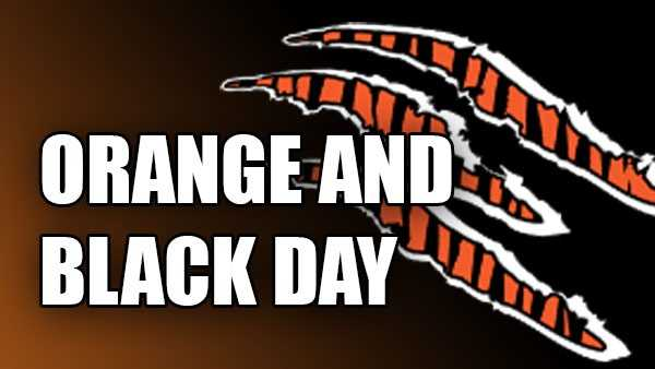 Are you showing your support for the Bengals, who take on the Steelers Saturday?Send us photos of you in team colors and we'll add it to the slideshow!