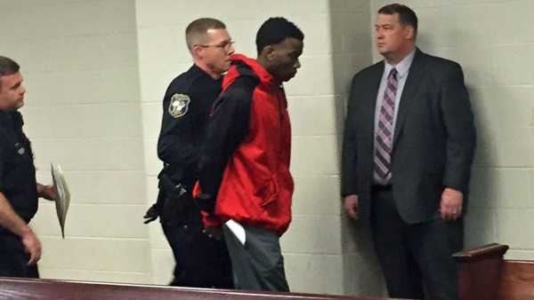 Demarcus Staley in court