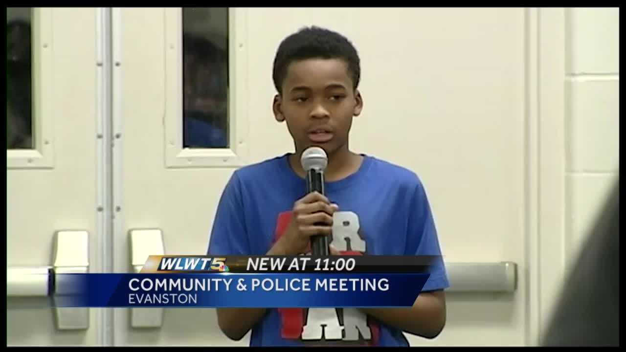 Cincinnati police kicked off the first of five public meetings Monday to hear from citizens on how to stop violence and reduce crime on city streets.