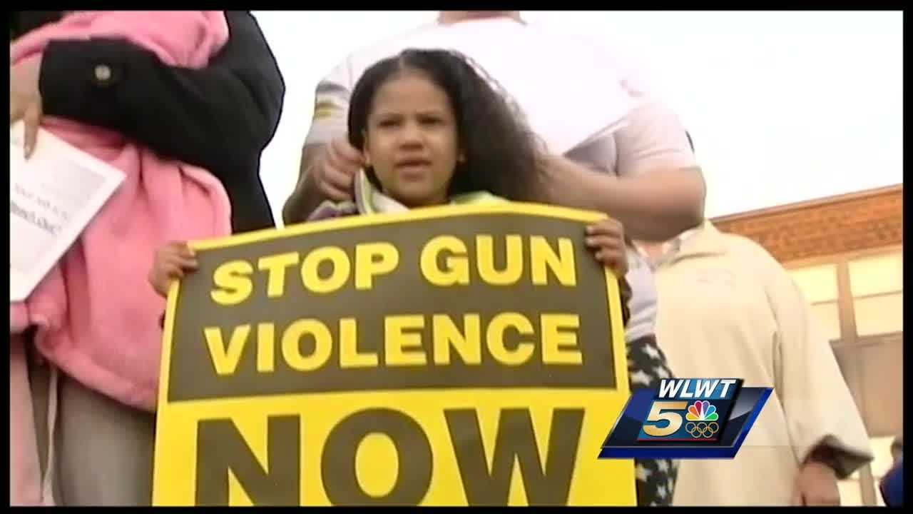 A town hall meeting and vigil were held in Westwood Monday night. Dozens of community members were on hand, calling for an end to neighborhood violence.