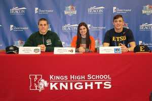 Jared Dorsa – Football, Ohio University&#x3B; Maddie Vossen – Soccer, Tusculum College&#x3B; Blake Bockrath – Football, East Tennessee State University