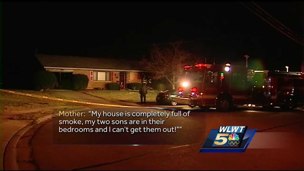 A man was killed when a fire broke out at his home in Lebanon early Thursday.