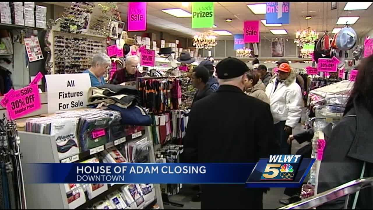A staple of downtown retail for more than half a century is closing its doors. House of Adam, a unique store and the go-to place for Jazzfest attendees, started its last sale Thursday morning.