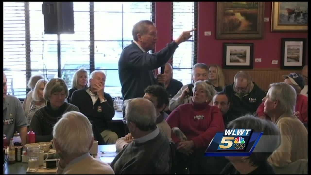 The state's Republican primary is more than a week away, Kasich knows he doesn't have a lot of time to make an impression with voters in the Palmetto State.