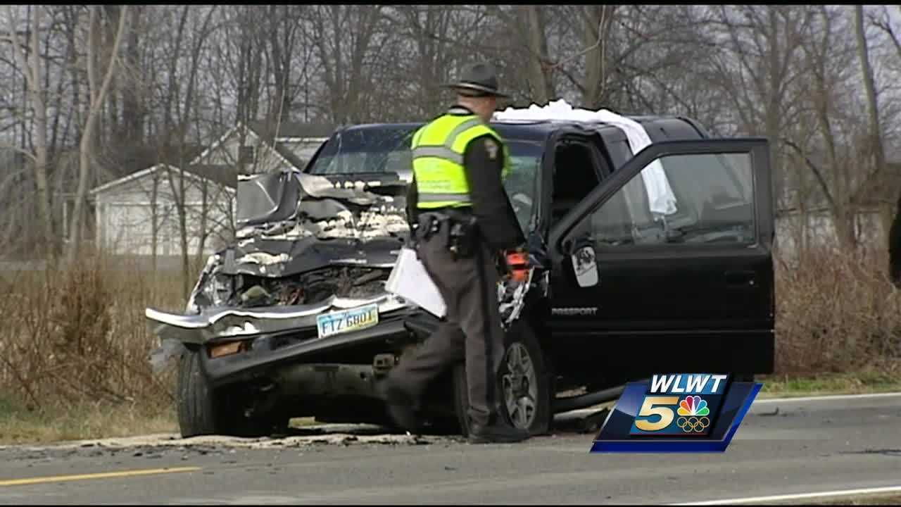 A bus stopping to pick up kids in Highland County was rear-ended Monday morning, with deadly results for the SUV driver. The crash happened on 321 near Stringtown Road outside Mowrystown.