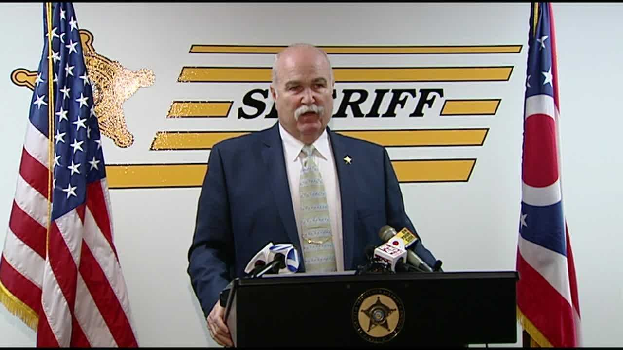 Butler County Sheriff Richard Jones gives an updates after two more teens are chraged in connection to Madison Twp. school shooting.
