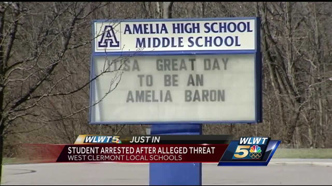 A sixth-grade student was taken into custody overnight after a report of a threat on social media.