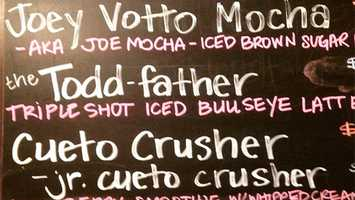"Address: 6105 Montgomery Rd, Cincinnati, OH 45213Website: www.coffeeexchangepr.comMost popular drink?""Bullseye Latte, which is caramel and vanilla with double espresso and steamed milk. Our hot chocolate is also super popular!!"""