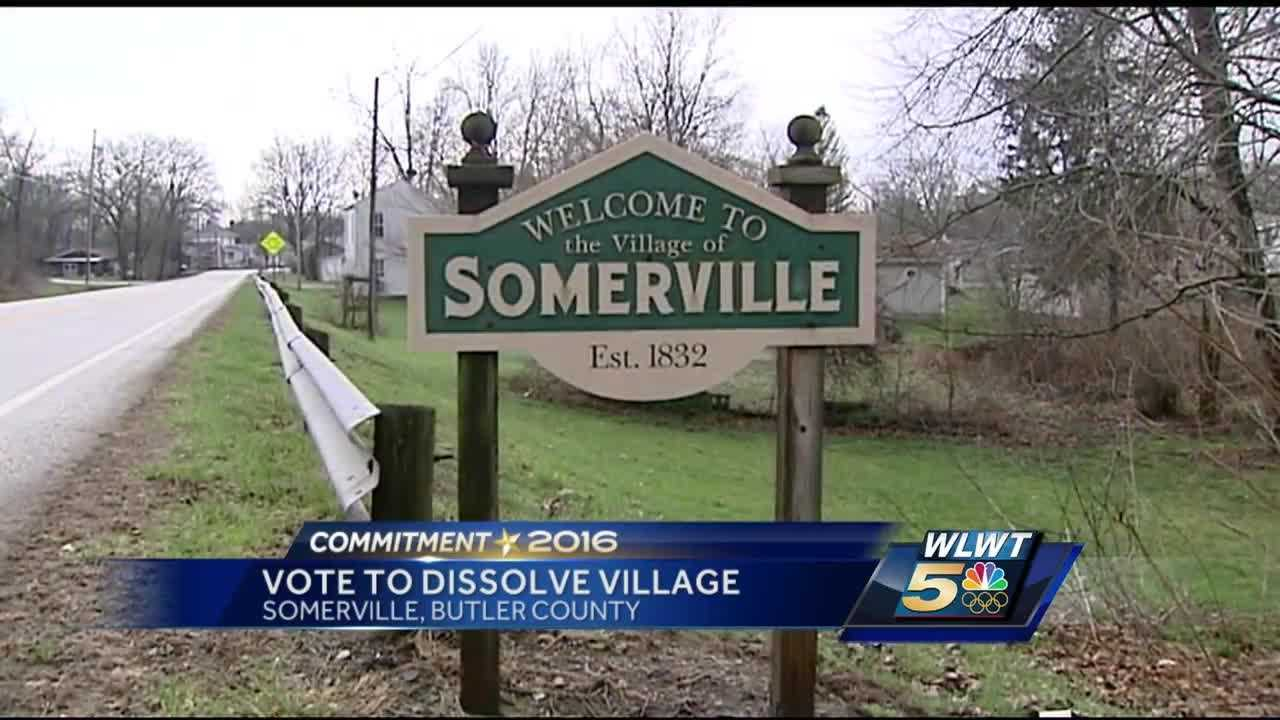 On Tuesday, those who live in Somerville will be voting on whether to dissolve the village into Milford Township.