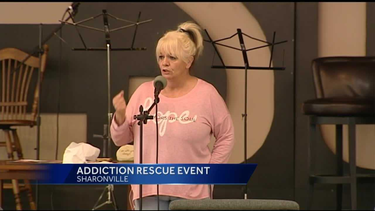 A Cincinnati mother is teaming up with the HART Foundation to fight the heroin epidemic with hope.