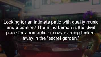 More information on The Blind Lemon