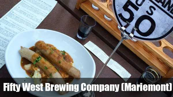 More information on Fifty West Brewing Company