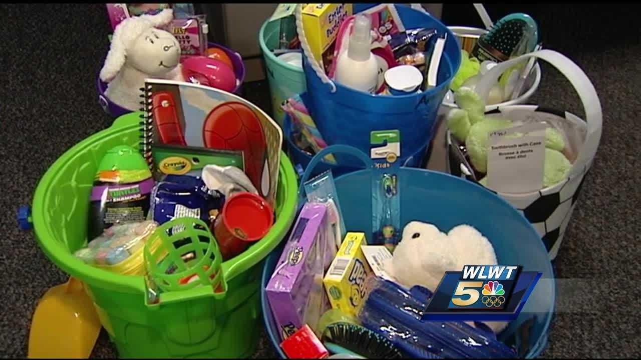 7th grader fills 300 Easter baskets for homeless children