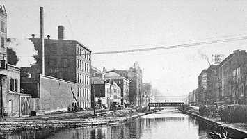 Canal, Now Central ParkwayCirca 1930