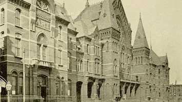 Cincinnati Music Hall, 1897Via Library of Congress