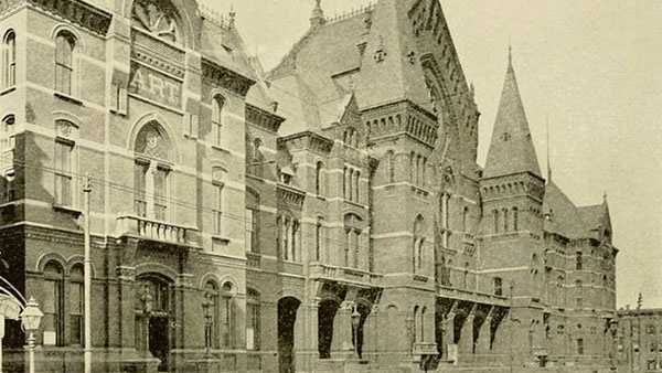 Cincinnati Music Hall, 1897Via Library of Congress