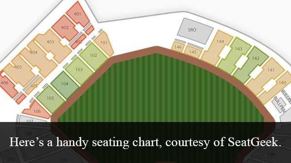 Info courtesy of SeatGeek