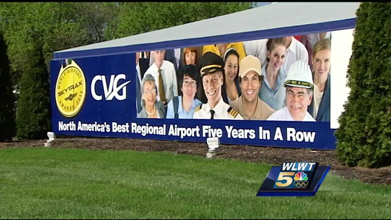 Airport officials say the demolition of Terminals 1 and 2 and the subsequent relocation of six historic Winold Reiss murals, signals that change is taking off at CVG.