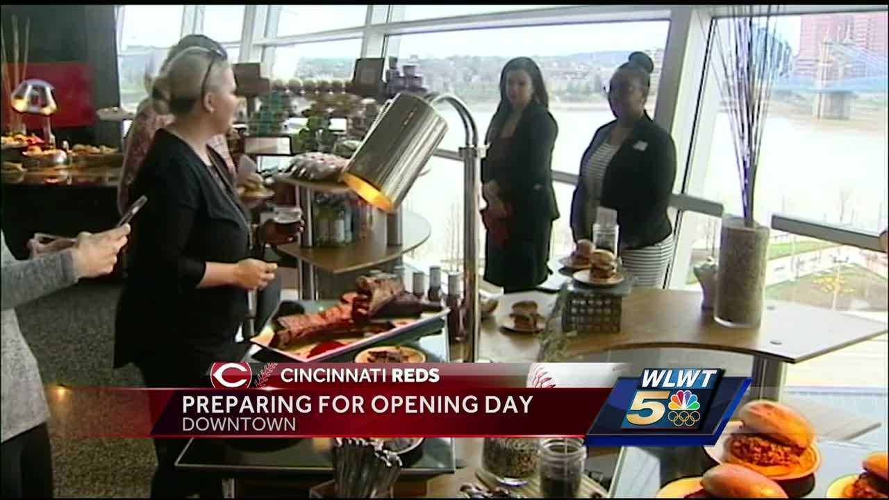 Cincinnati Opening Day is Monday and area businesses said they're ready for the crowds.