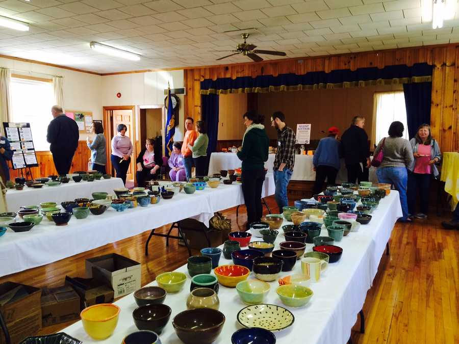 Mason Food Pantry, April 9, 2016