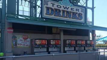 There are also three new drink refill stations, which will mean no more waiting in line for a refill.