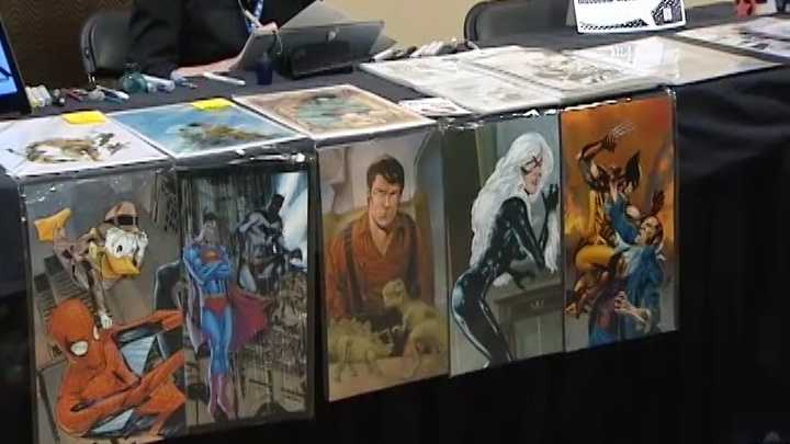 Cincinnati Comicon is Sept. 9 to 11, 2016. Organizers hosted a smaller, art-focused show called Queen City Comicon April 16, 2016.