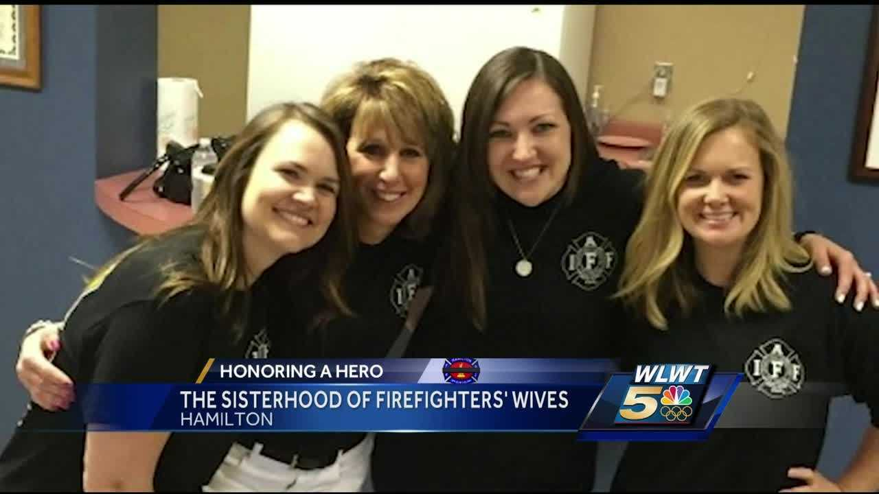 The wife of fallen Hamilton firefighter Patrick Wolterman says she wants an upcoming race in her husband's name to be a party.
