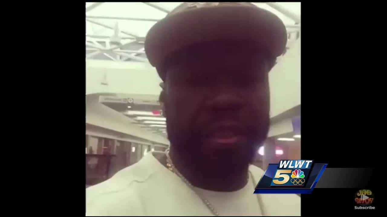Curtis Jackson, known more commonly as 50 Cent, flew into CVG to promotion for a liquor company in Cincinnati. A selfie video he made quickly went viral. But now the family of the man wrongly accused of being on drugs wants the recording artist to set the record straight.