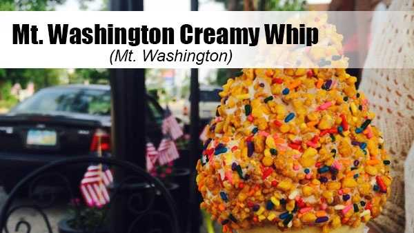 This staple in the Mt. Washington community offers chocolate, vanilla or swirl soft serve with a huge array of toppings.Yelp tip: Opt for the peanut butter crunch with sprinkles or Reese's Cup topping.