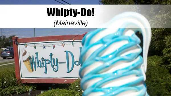 Remember that legendary blue ice cream from Kings Island? Look no further because Whipty-Do has mastered the art of blueberry soft serve. Yelp tip: Stop by with your pup for a doggie sundae –- a dog friendly soft serve with a dog treat on top.