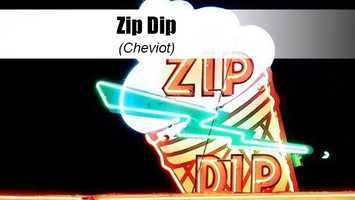 Known for neon lights and nostalgia, Zip Dip oozes authenticity. With more than 50 different rotating flavors including low-cal fro-yo options, you'll be sure to satisfy the whole family with one stop.