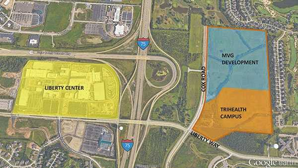 TriHealth announced that it intends to build an ambulatory center in Liberty Township