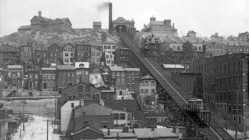 Mount Adams Incline, between 1900 and 1910Via Library of Congress