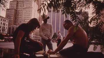 Fountain Square, 1970Photo via Environmental Protection Agency