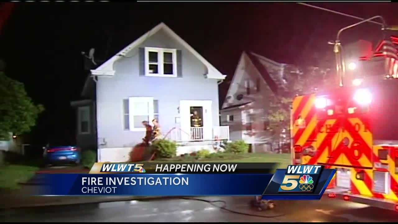 Fire crews responded to a two-alarm fire in Cheviot overnight.