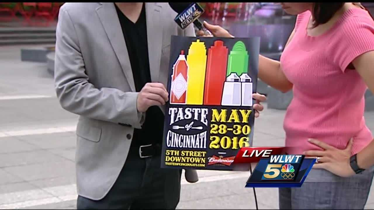 The Taste of Cincinnati returns to the Queen City on Memorial Day weekend, featuring 51 unique tastes from across Cincinnati.