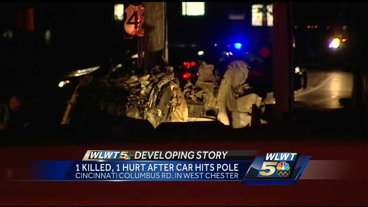 West Chester police are still working to figure out exactly how an early-morning crash happened.