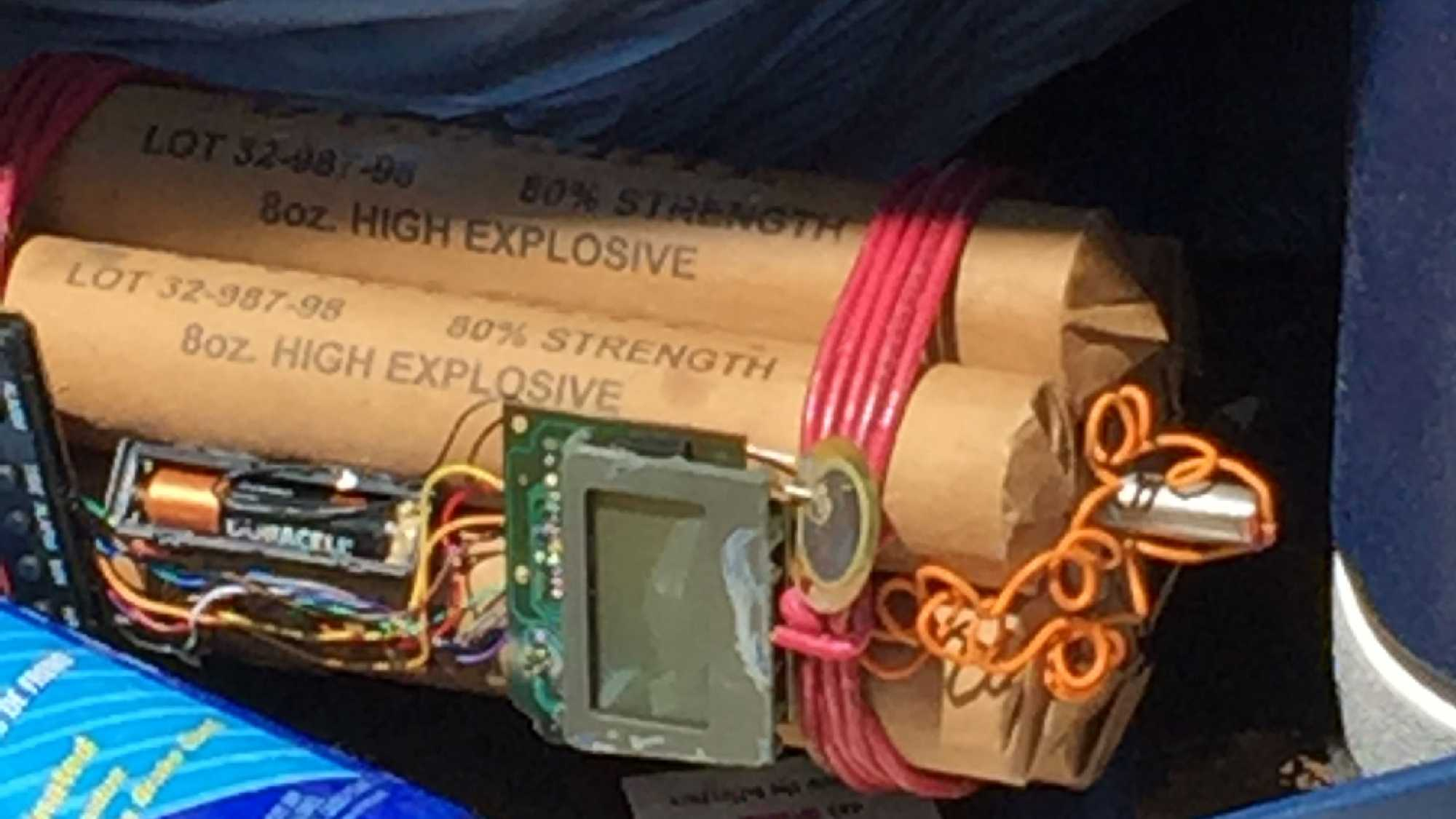 Object resembling a bomb found in car in Evendale.