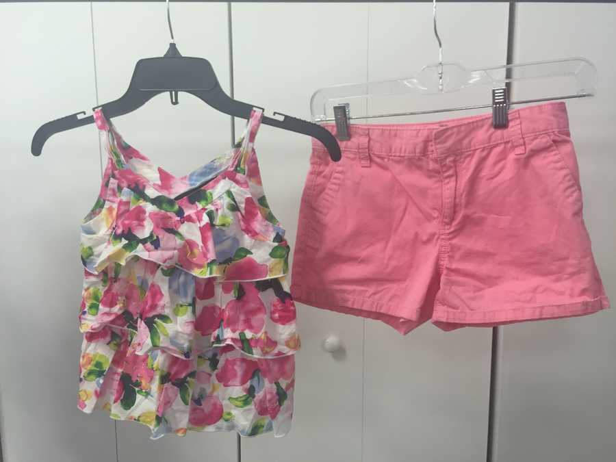 Girl's outfit, $6
