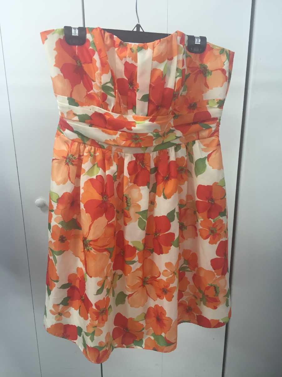 Women's David Bridal dress, $5
