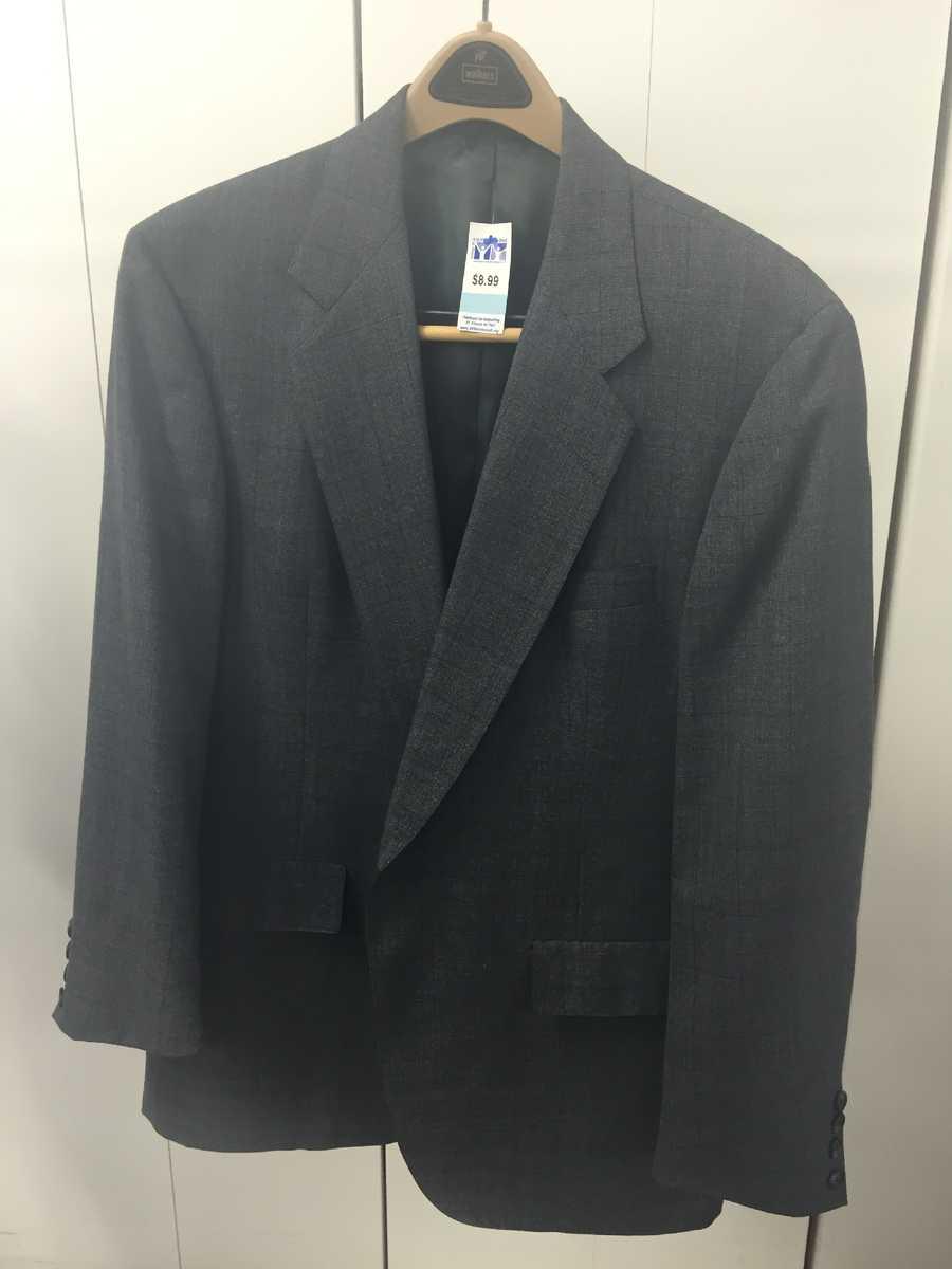 Men's blazer, $9