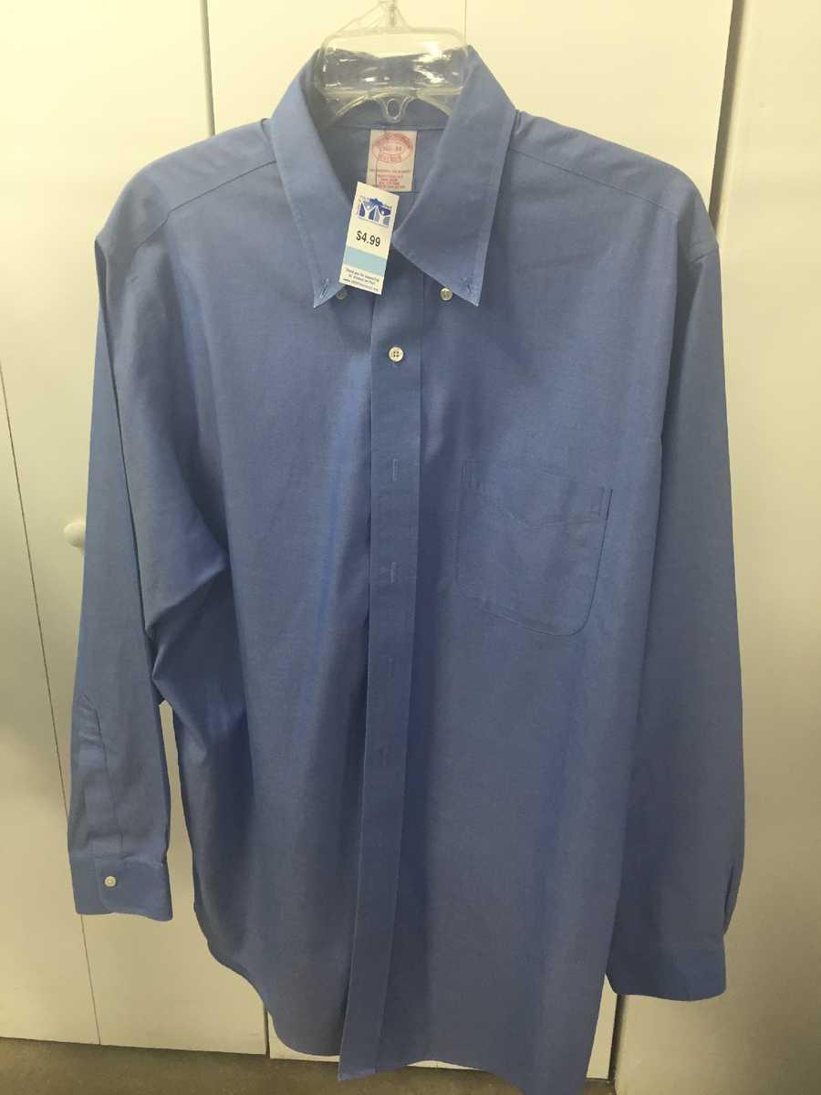 Men's Brook Brothers shirt, $5