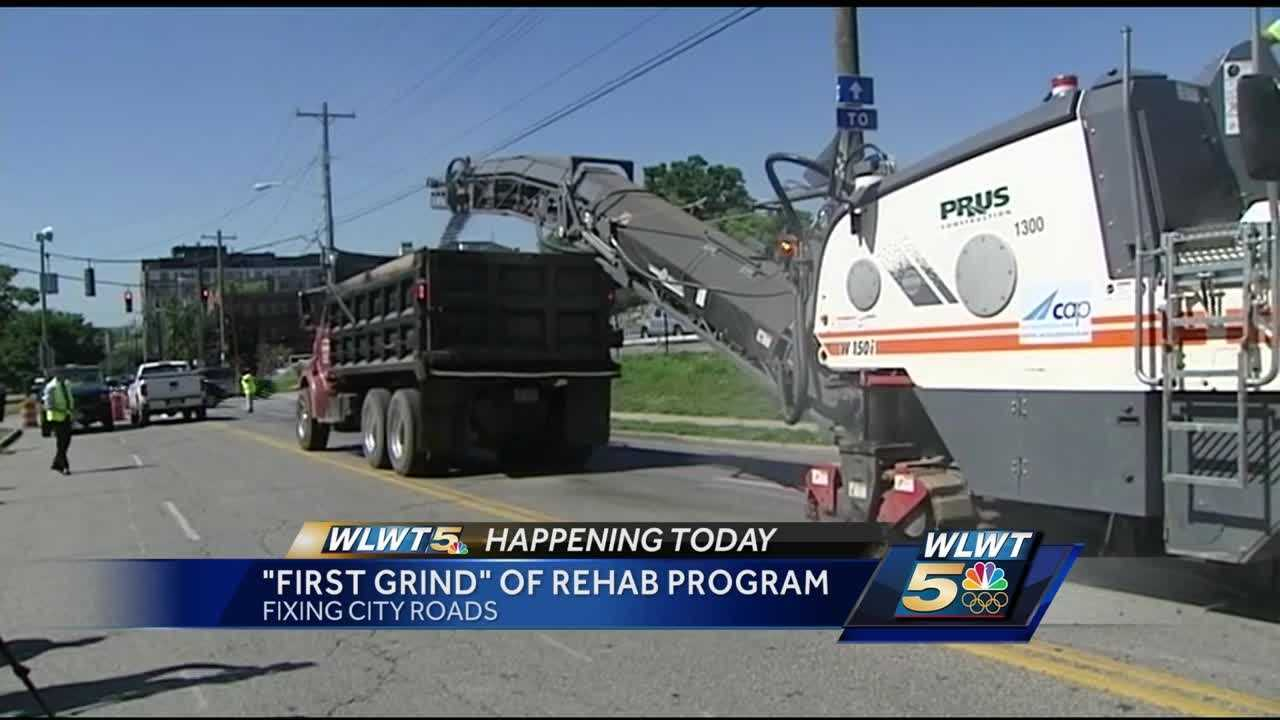 $69 million will be spent this year to fix and update Cincinnati roads.
