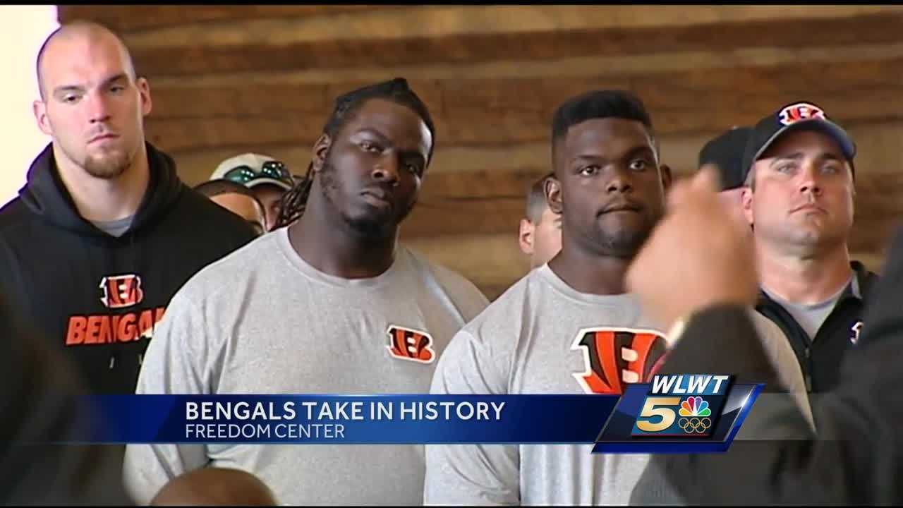 Instead of running drills, the Cincinnati Bengals used the last day of organized team activities to reflect.