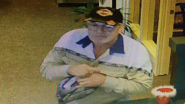 Police said this man robbed Citizens First Bank on Campbell Lane in Bowling Green, Ky. just before 10 a.m.Thursday,then got into a red van and left.