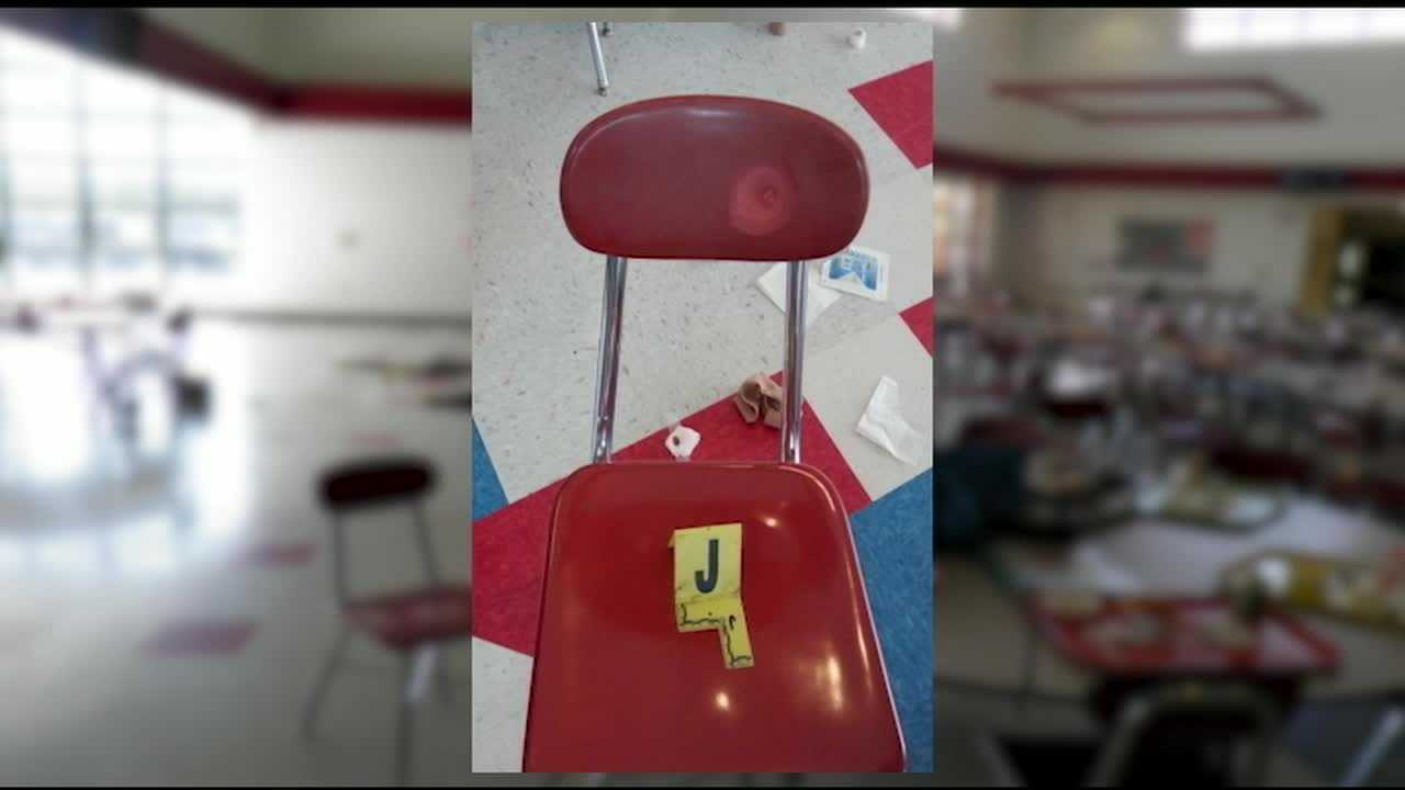 New evidence has been released showing why the Madison Junior-Senior shooter started firing on Feb. 29. Photos also give a better glimpse at the evidence left behind.