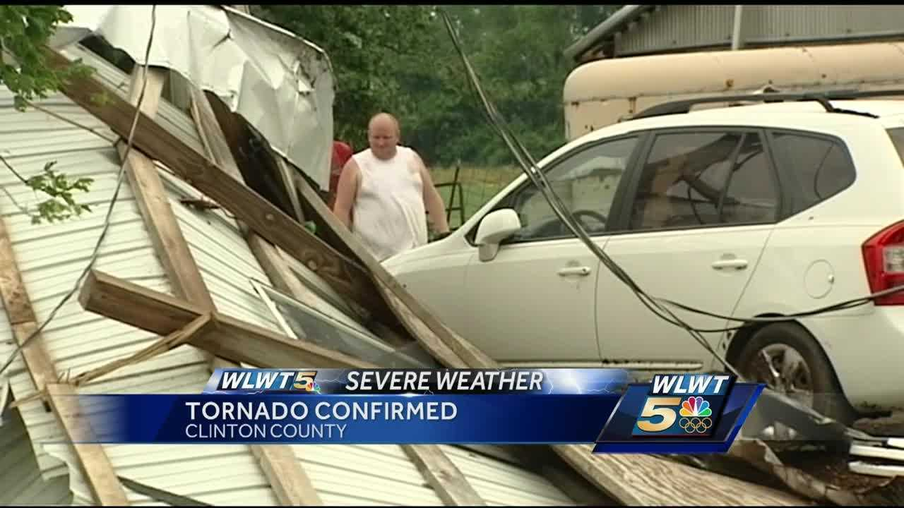 A storm survey team from the National Weather Service has confirmed that a tornado touched down near Wilmington during Thursday's early morning storms.